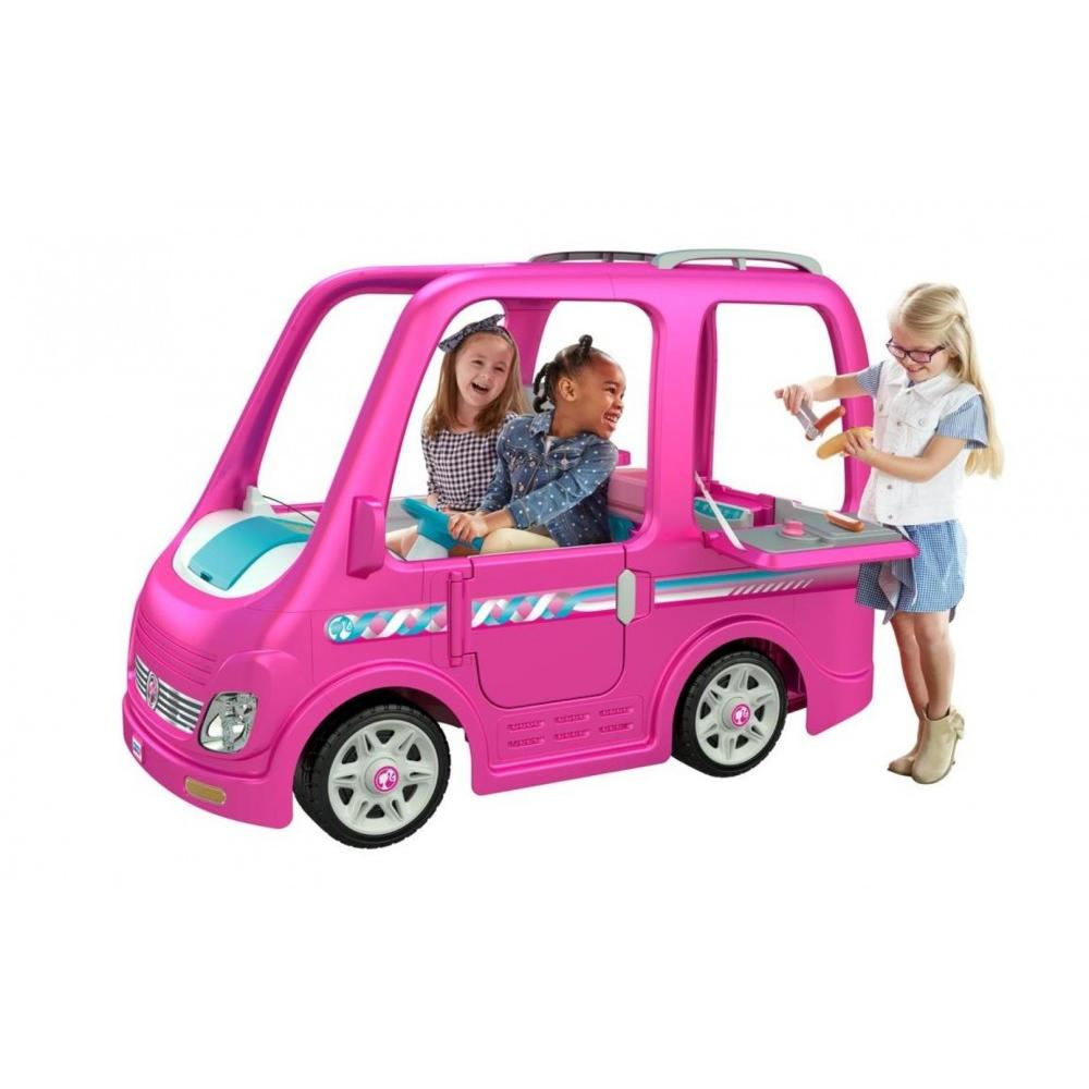 Power Wheels Barbie Dream Camper, Battery-Powered Ride-On Vehicle by Fisher-Price