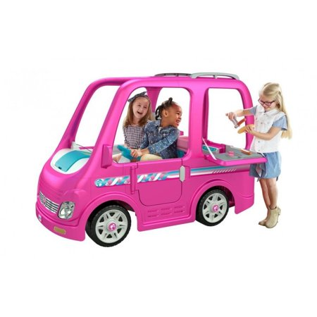 Power Wheels Barbie Dream Camper](Power Wheels Ages 8 Up)
