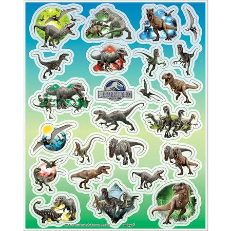 Jurassic World Sticker Sheets, 4ct