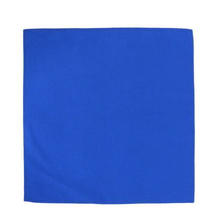 Royal Blue Cloth (Tableware Fabric Square Dinner Mat Placemat Cloth Napkin Royal Blue 48cm x)