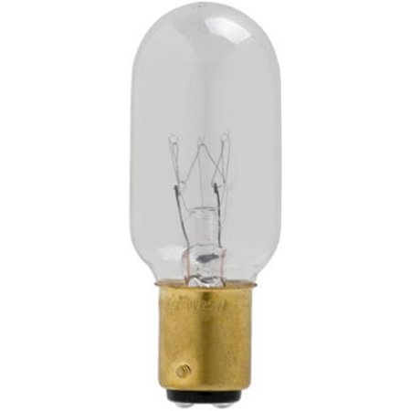 Globe Electric 70948 25 Watts Clear DC Tubular Light Bulb, Pack Of 6 - image 1 of 1