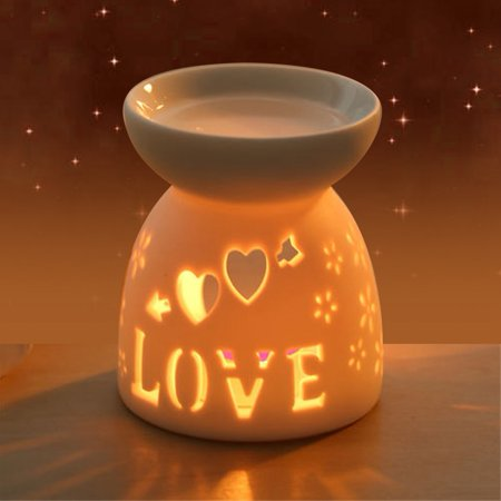 Dacor Stove - WALFRONT Night Fragrance Lamp Ceramic Essence Oil Burner Candle Incense Aromatherapy Stove, Candle Incense, Aroma Burner