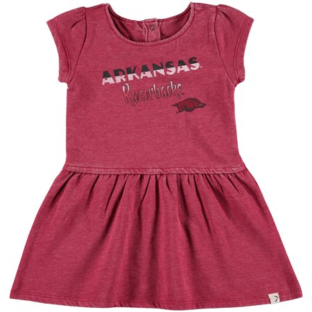 Cardinal Dress (Arkansas Razorbacks Colosseum Girls Toddler Mallow Dress - Cardinal )
