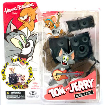 McFarlane Toys Hanna-Barbera Series 1 Tom & Jerry Rock & Roll Action Figure