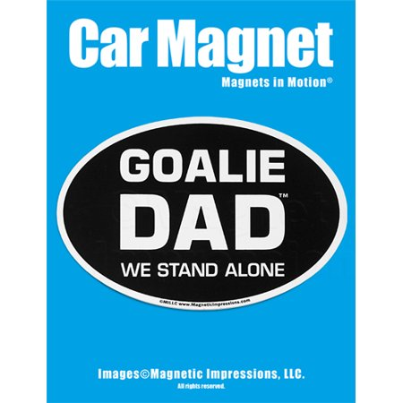 Goalie Dad Car Magnet - Lacrosse Hockey Soccer