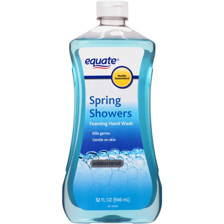 Equate Spring Showers Scent Foaming Hand Wash Refill 32 Fl Oz. Soap Dispenser For Shower Walmart   Automatic Soap Dispenser