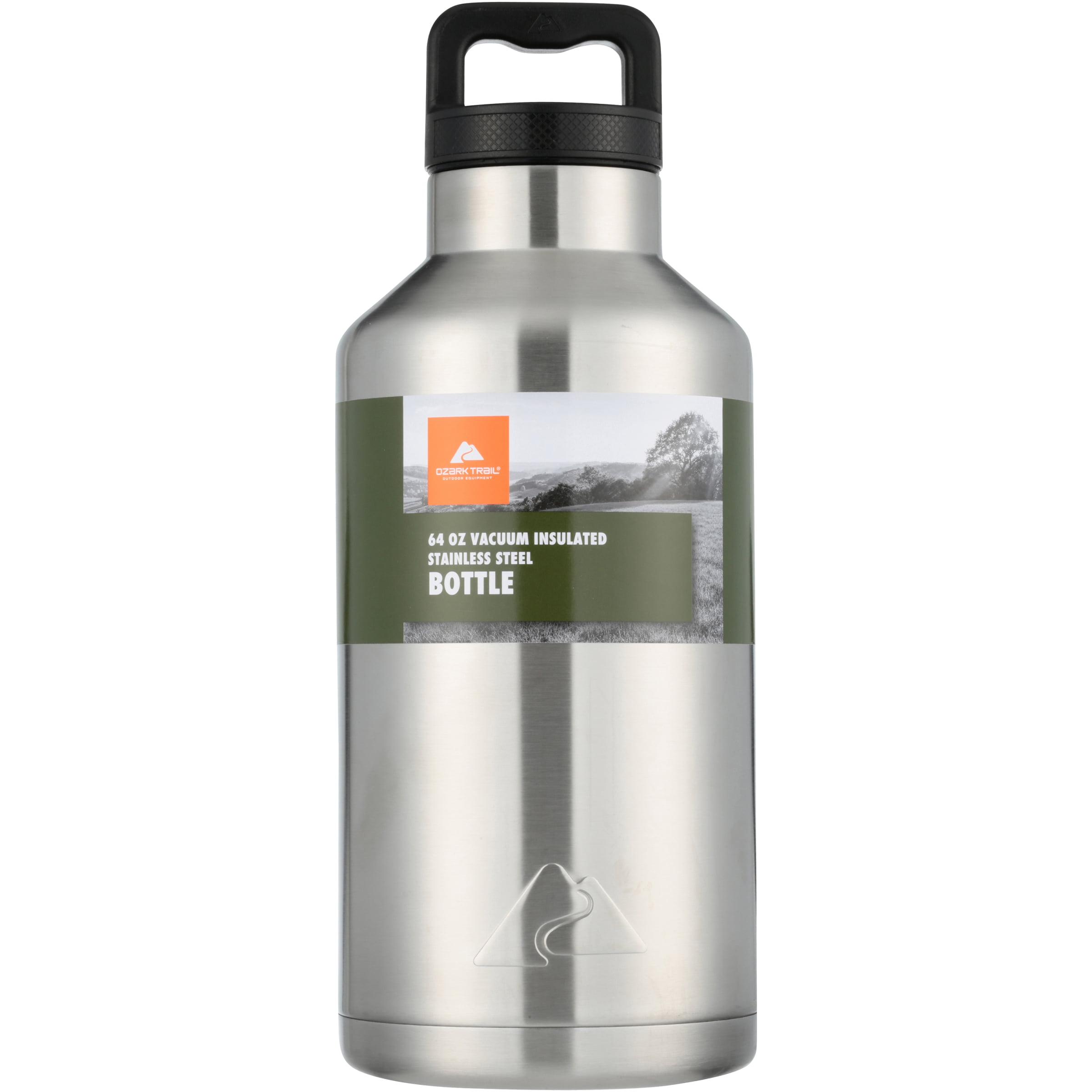 93da94f7841 Ozark Trail 64oz Double Wall Stainless Steel Water Bottle