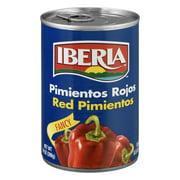 Iberia Sweet Red Pimientos, 14 oz