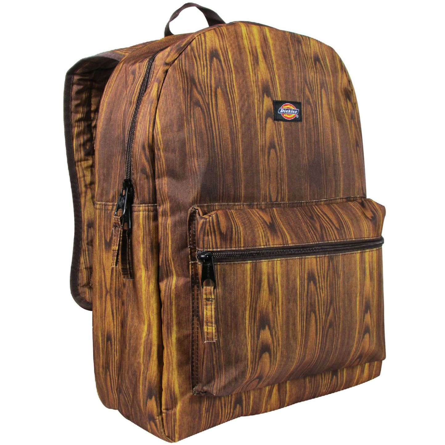 Dickies Wood Print Canvas Backpack Student School Travel Pack