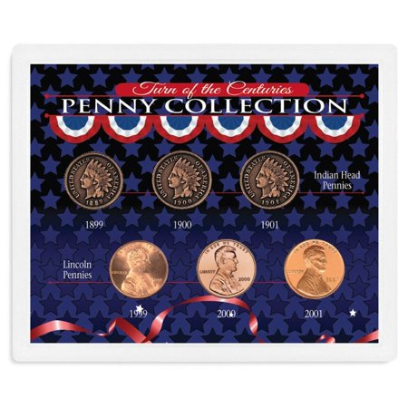 American Coin Treasures  Turn of the Centuries Penny Collection