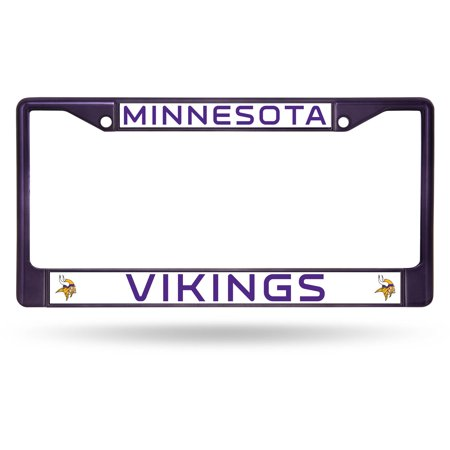 Rico Industries Nfl Color License Plate Frame Minnesota