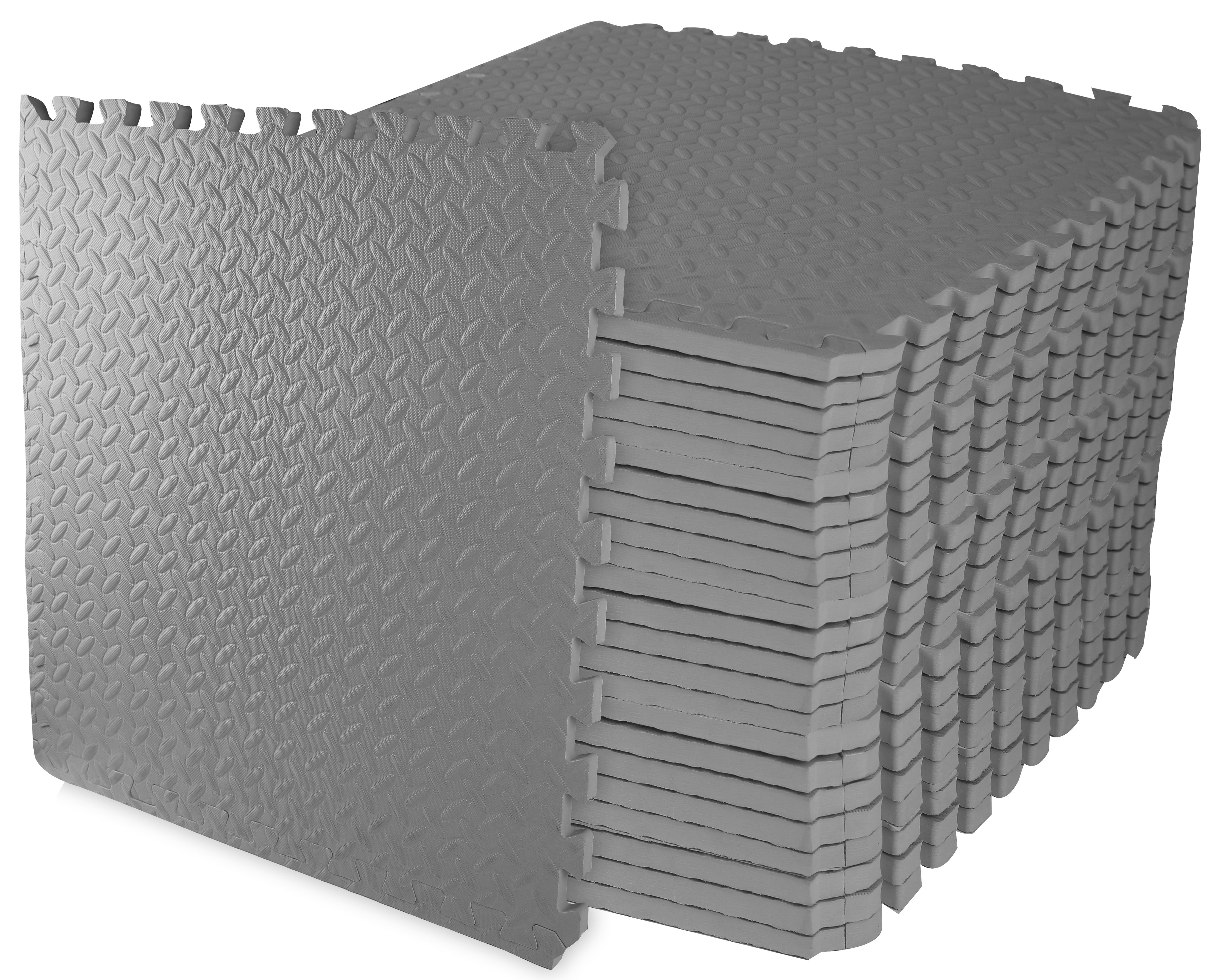 """24 SQ FT 3//4/"""" THICK EXERCISE PLAY FOAM GYM FLOORING MAT INTERLOCKING PUZZLE MATS"""