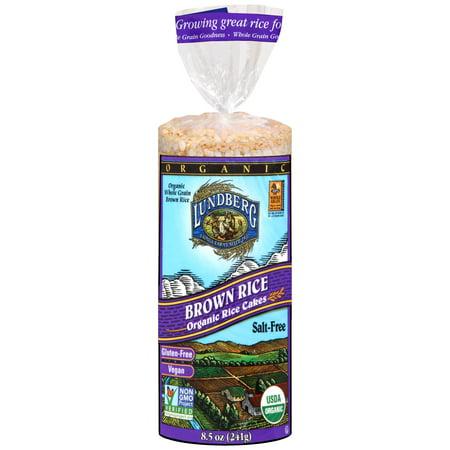 Lundberg ® Brown Rice Organic Rice Cakes 8.5 oz. Bag