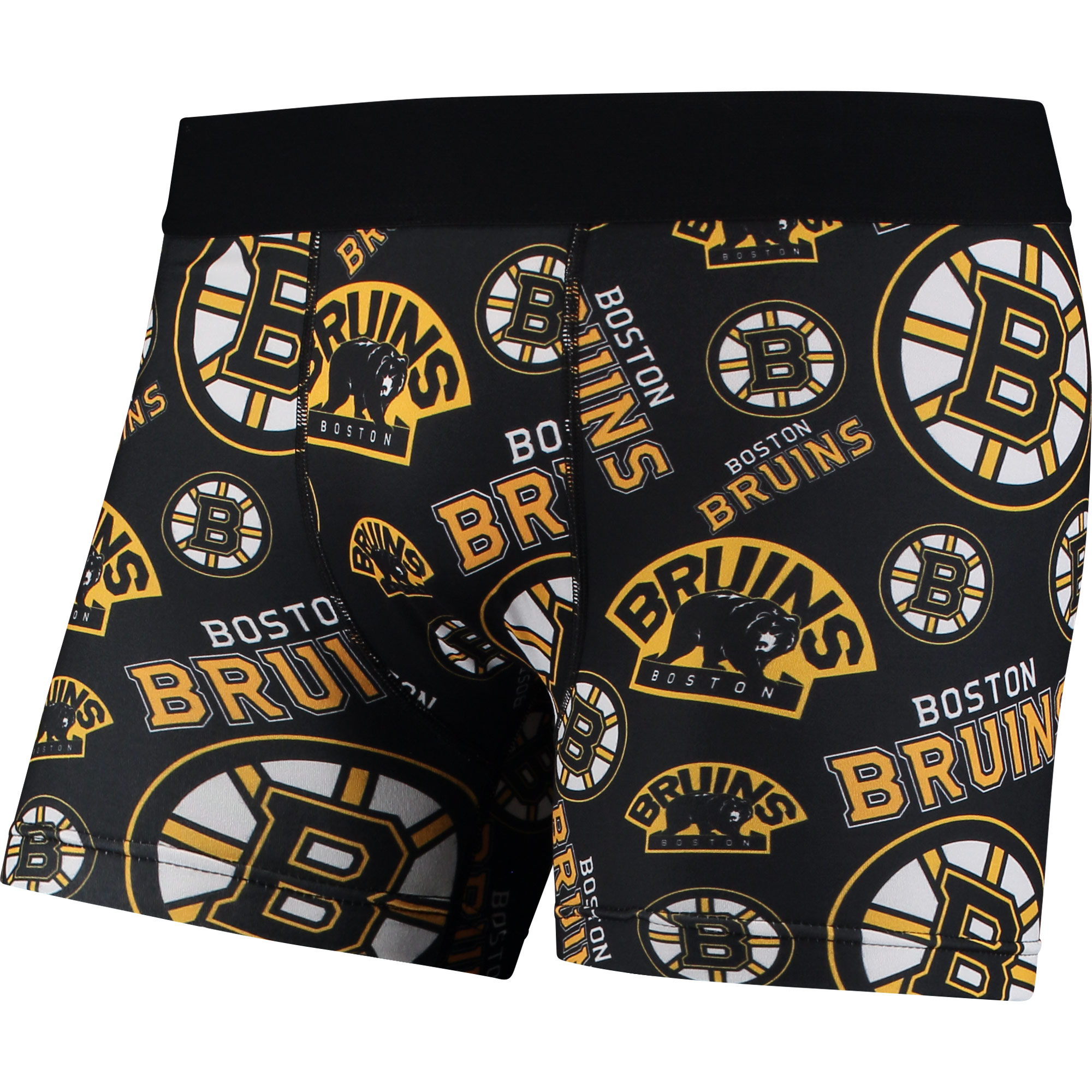 Boston Bruins Repeat Logo Compression Underwear Black by TEAM BEANS INC/FOREVER COLLECTIBLES