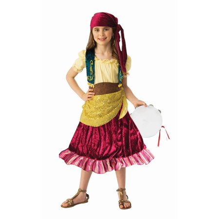 Gypsy Maiden Costume (Girls Gypsy Costume)