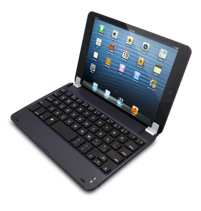 DGIPA234ABK-BK Digital Gadgets Ultra Thin Bluetooth Keyboard for Full Size Apple iPad 2//3//4 Tablet Computers