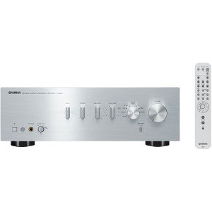 Yamaha A-S501 Amplifier - 170 W RMS - 2 Channel - Silver - 0% THD - 20 Hz to 20 kHz - 510