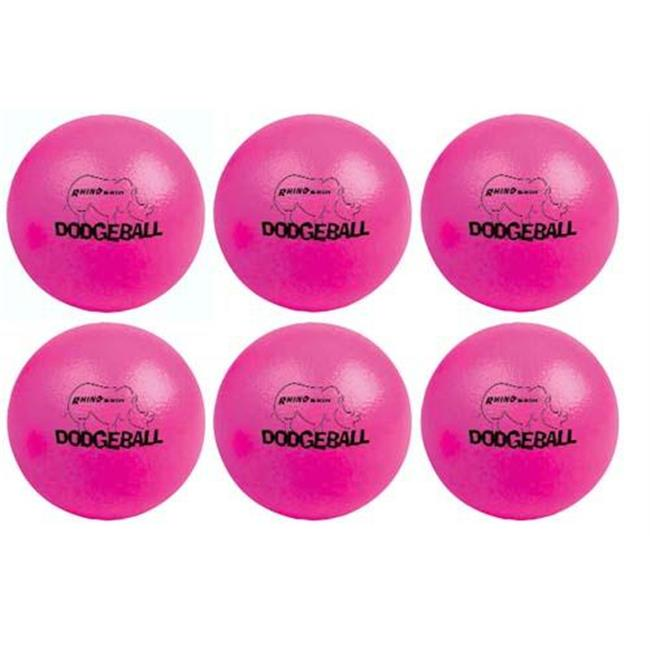 Olympia Sports BL283P Rhino Skin Dodgeballs - Neon Pink -...