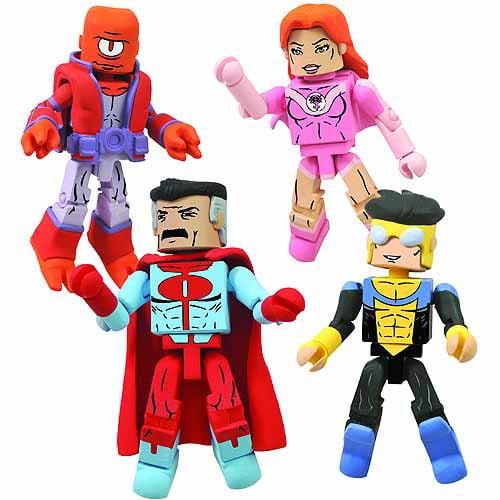 Diamond Select Toys Invincible Minimates Box Set