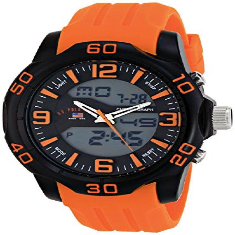 U.S. Polo Assn. Sport Men's US9476 Analog-Digital Watch W...