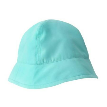Infant & Toddler Boys & Girls Floppy Aqua Blue Sun Hat UV Bucket -