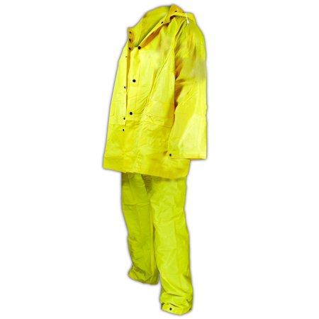 Magid RainMaster 3-Piece Rain Suit Jacket 3XL - Rainsuit Jackets