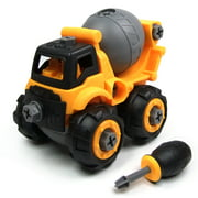 Wistoyz Take Apart Car Construction Toys for 2-3 -4 -5-6-7 Years Old Boys & Girls, STEM Toys with Screwdriver, Build Your Own Car Kit, Toy Cars for 2+ Year Old, DIY Assembling Blender Toy