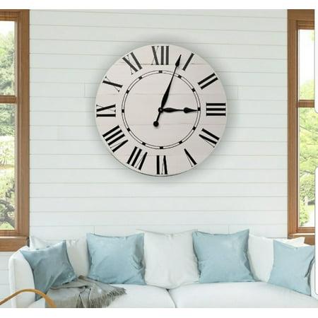 Riley Farmhouse Wall Clock