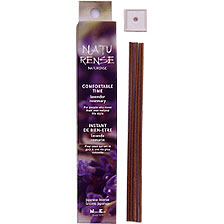 Comfortable Time - Lavender and Rosemary - Naturense Incense From Nippon Kodo - 40 Sticks and Holder