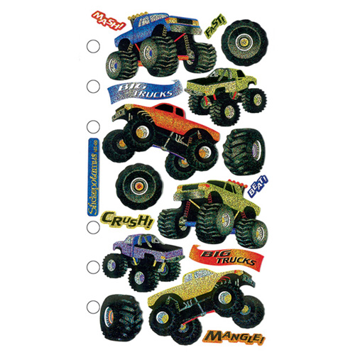 Wilton Sticko Big Trucks Classic Sticker
