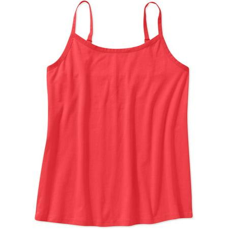 da11ec68627 Faded Glory - Women s Plus-Size Basic Cami - Walmart.com