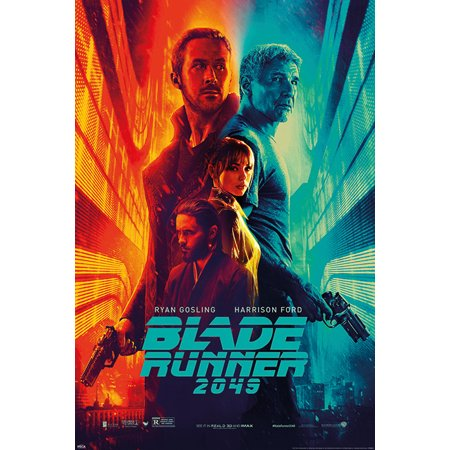 Blade Runner 2049   Movie Poster   Print  Regular Style   Fire   Ice   Size  24   X 36