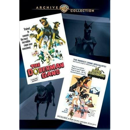 The Doberman Gang / The Daring Dobermans (DVD)