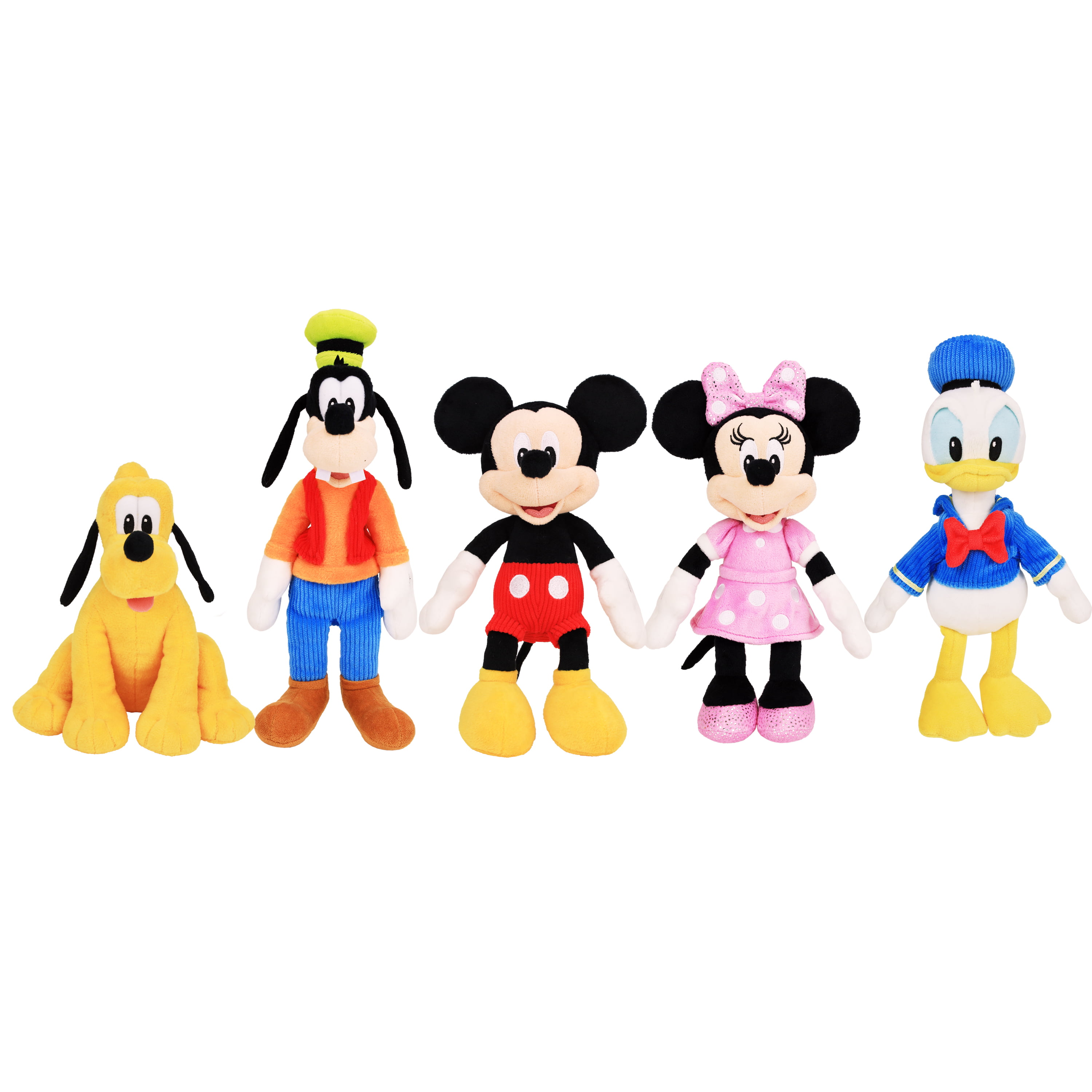 Mickey Mouse Clubhouse Bean Plush 5-pack, Ages 2 +