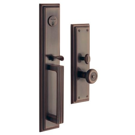 Baldwin  6542.ENTR  Keyed Entry  Tremont  Mortise Lock  Single Cylinder  ;Venetian Bronze