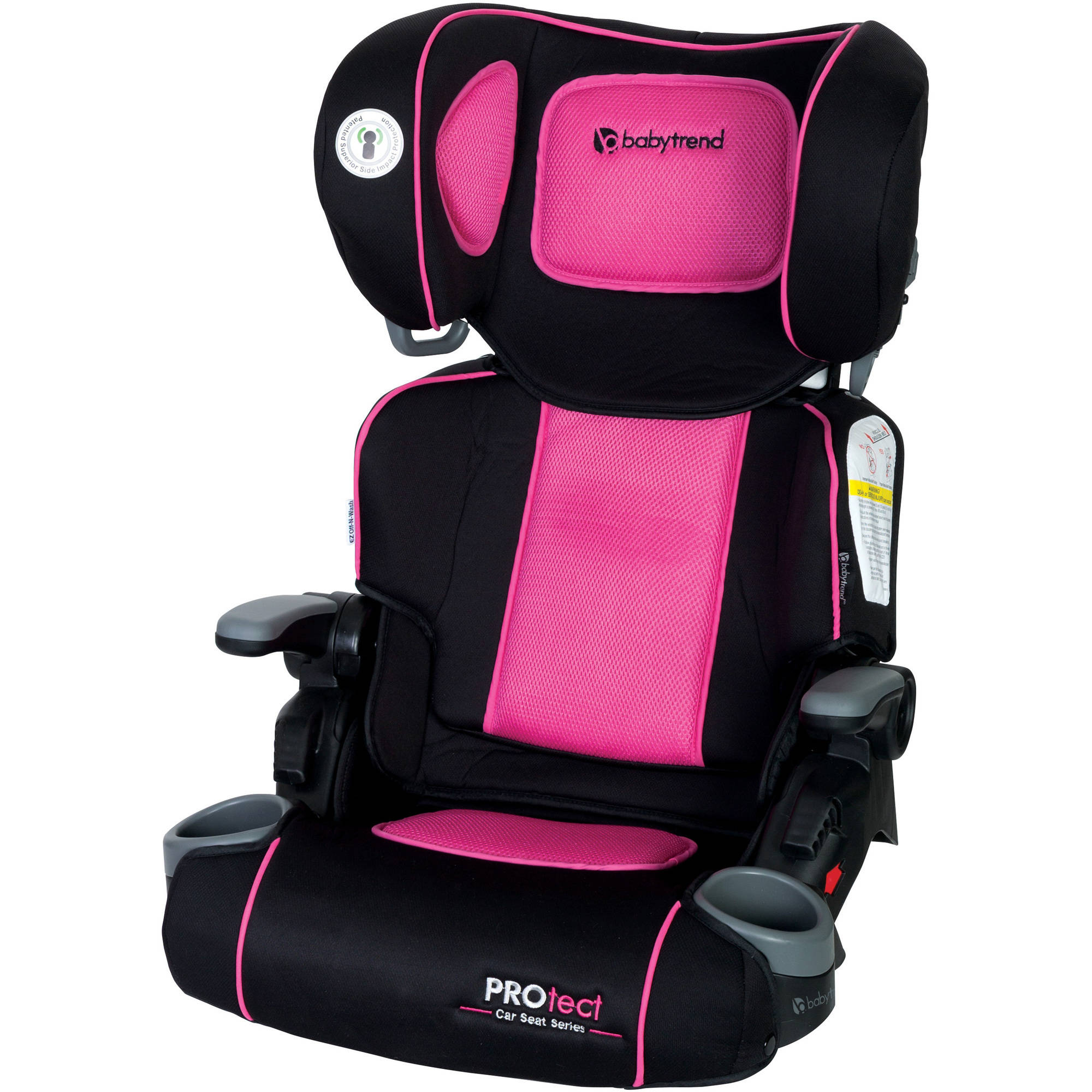 Baby Trend PROtect Yumi Folding Booster Car Seat, Ophelia