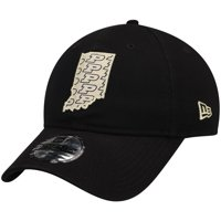 Purdue Boilermakers New Era Stamp 9TWENTY Adjustable Hat - Black - OSFA