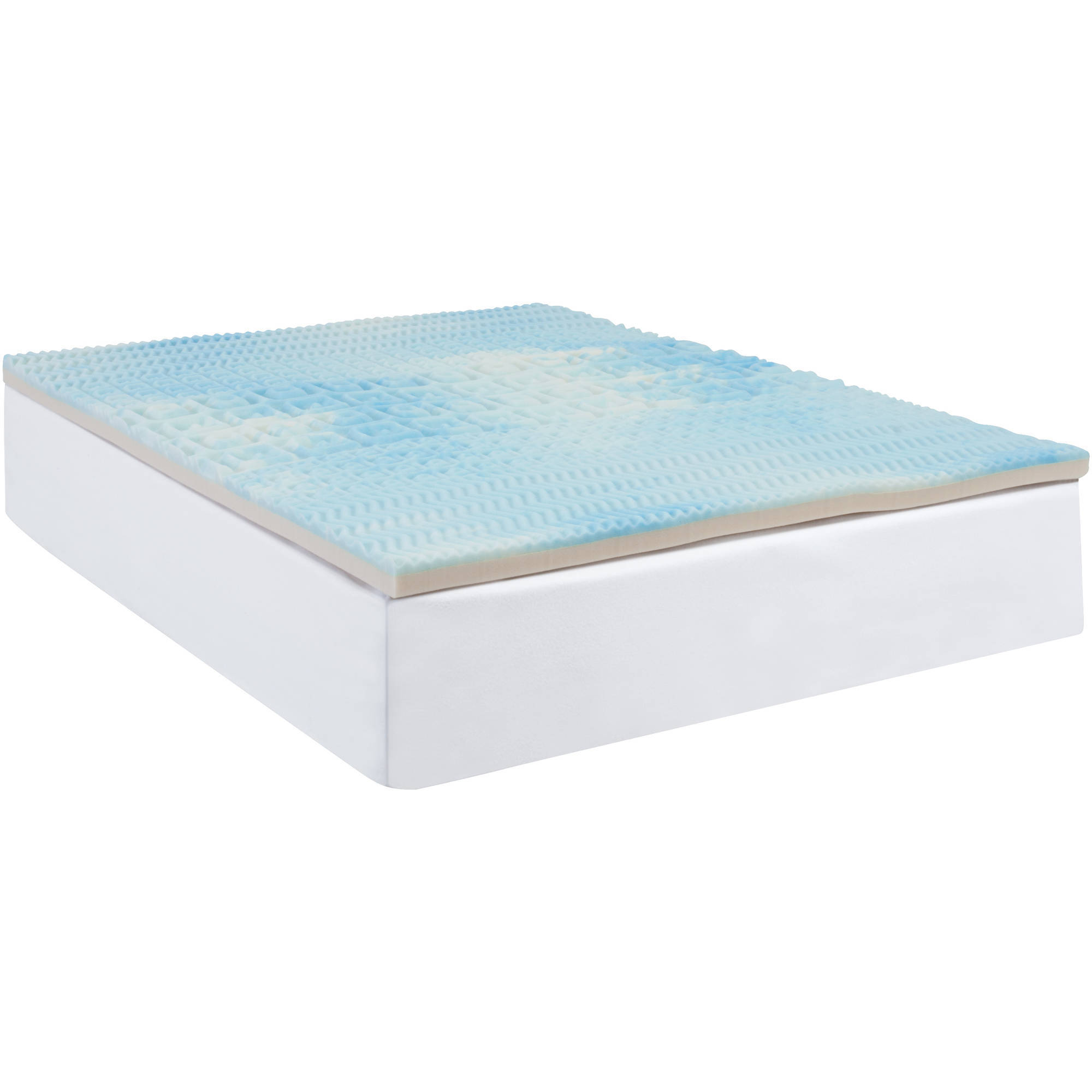 Beautyrest Five Zone Fusion Foam Mattress Topper Multiple Sizes Cooling Gel New Ebay
