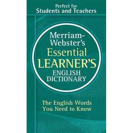 Merriam Websters Essential Learners English Dictionary