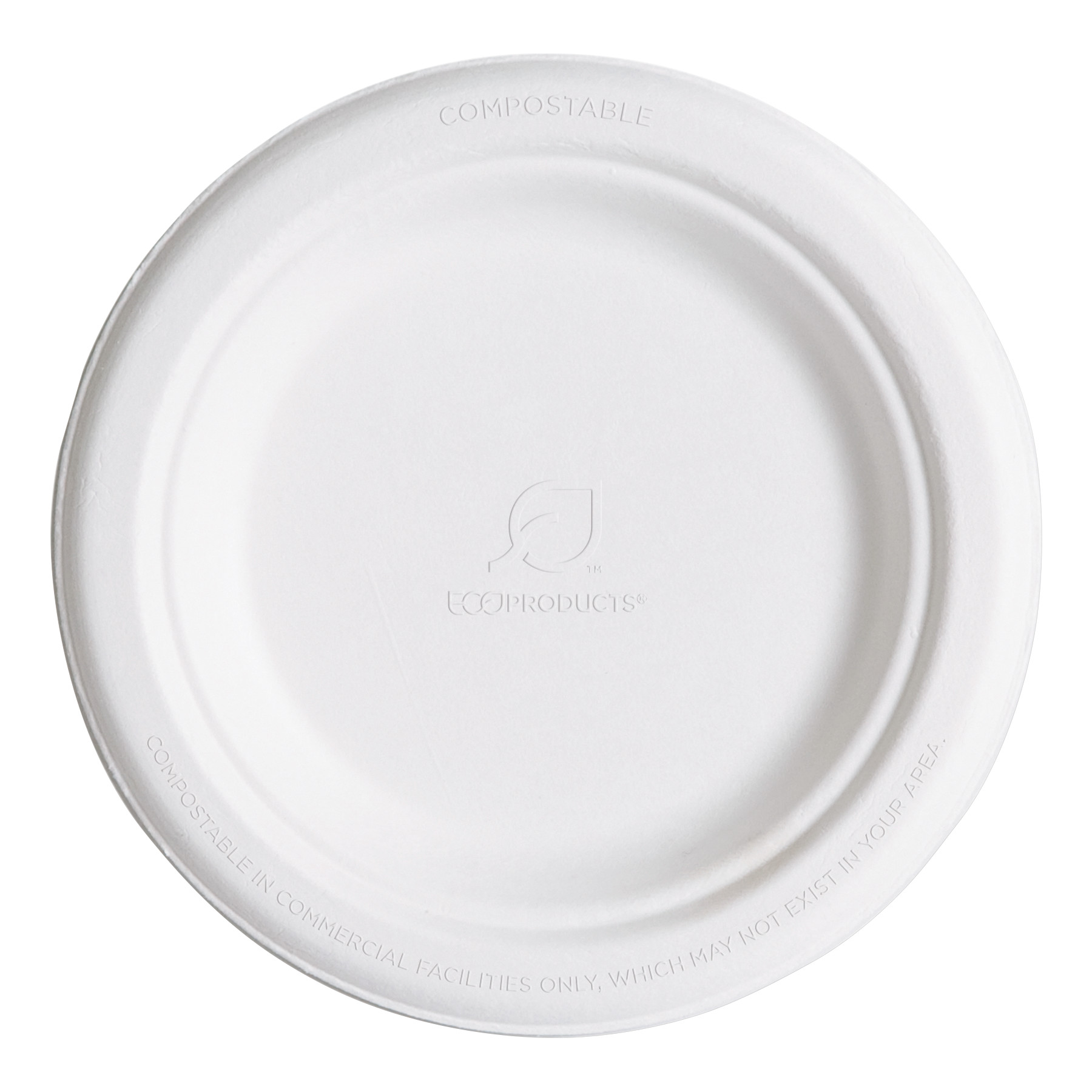 Eco-Products Renewable u0026 Compostable Sugarcane Plates 6  1000/Carton  sc 1 st  Walmart & Eco-Products Renewable u0026 Compostable Sugarcane Plates 6