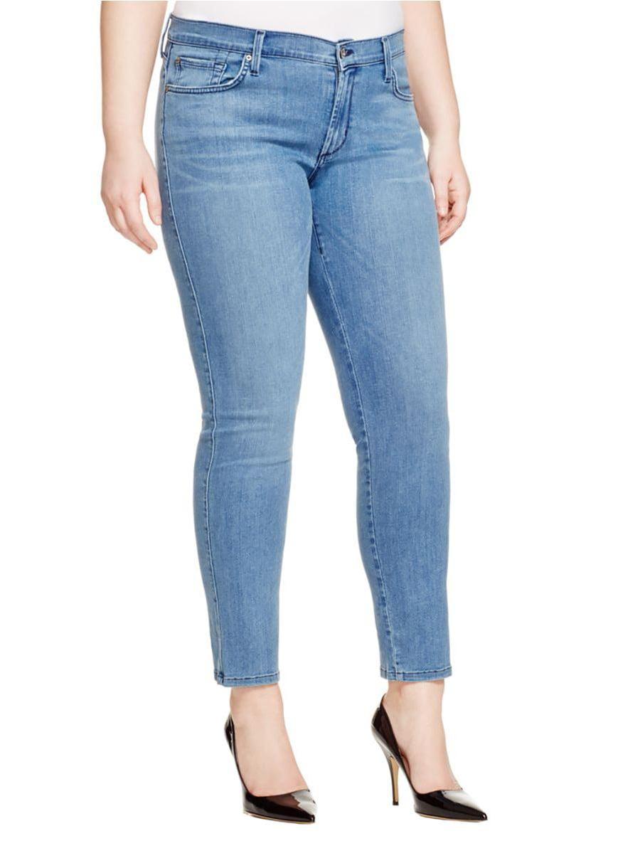 James Jeans Womens Twiggy Maternity Jean in Blue Moon