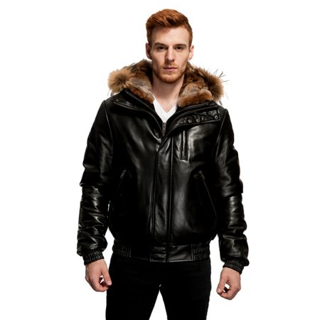 Original Goose by Mason & Cooper Down Bomber Leather
