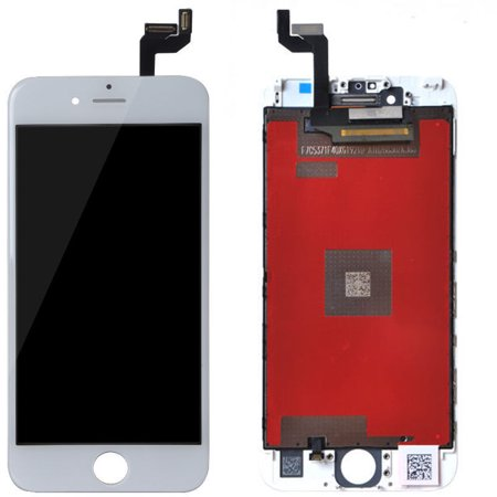 best website a7877 e0c5a LCD Screen and Digitizer Assembly with Frame Replacement Part Compatible  with Apple iPhone 6S Plus 5.5 - White