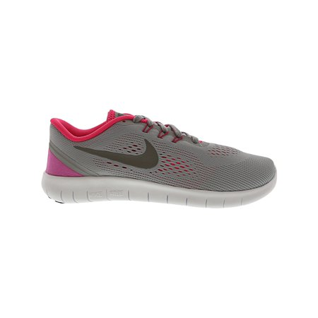 2c41d09bd5e4 Nike Free Rn Gs Wolf Grey   Metallic Silver Ankle-High Fabric Running Shoe  ...