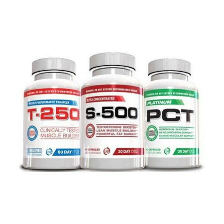 El músculo del edificio Pila - S-500, T-250 y Platino PCT, suministro para 30 días