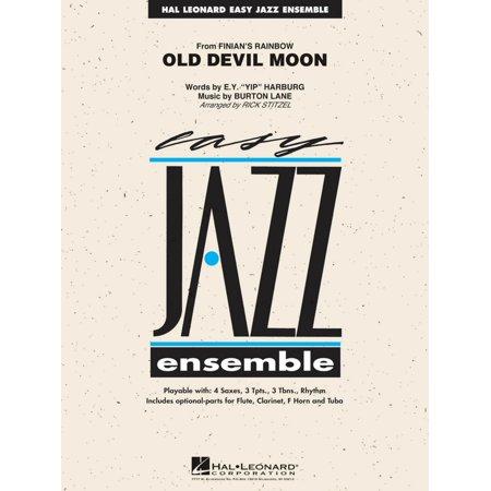 Hal Leonard Old Devil Moon Jazz Band Level 2 Arranged By Rick Stitzel