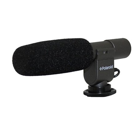 Polaroid Pro Video Condenser Shotgun Microphone For Digital SLR Camera/Camcorder