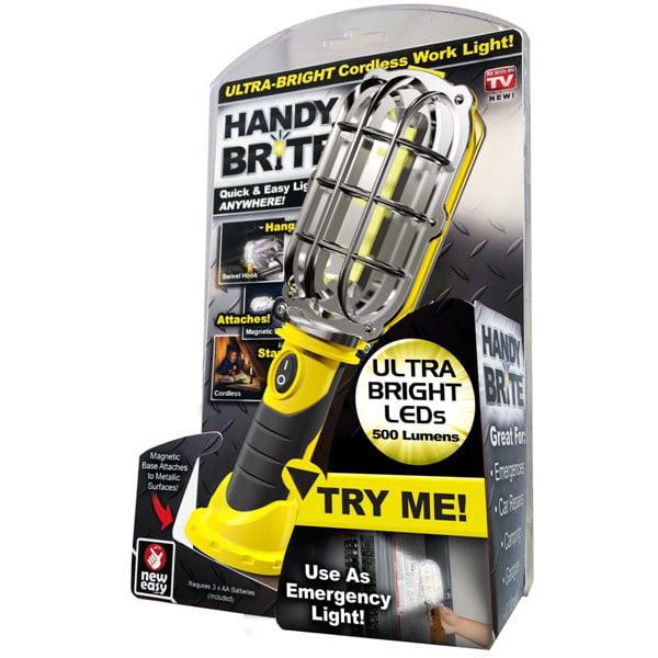 Handy Brite, Ultra Bright Cordless LED Work Light - As Seen on TV