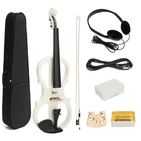 MECO Electric Violin Right or Left Handed Size 4/4 2 Styles 3 Colors