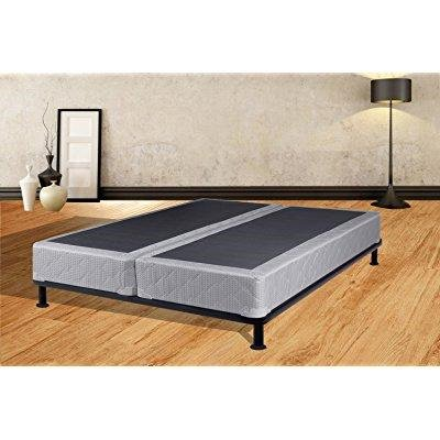 continental sleep spring coil queen size fully assembled split box spring for mattress luxury. Black Bedroom Furniture Sets. Home Design Ideas
